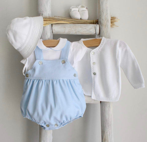 Oliver romper in light blue