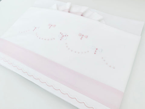 Pink Dragonfly Bed Linen set