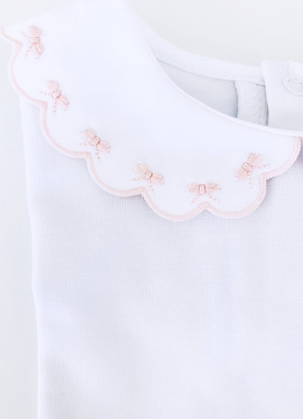 Body short sleeves- Pink bows