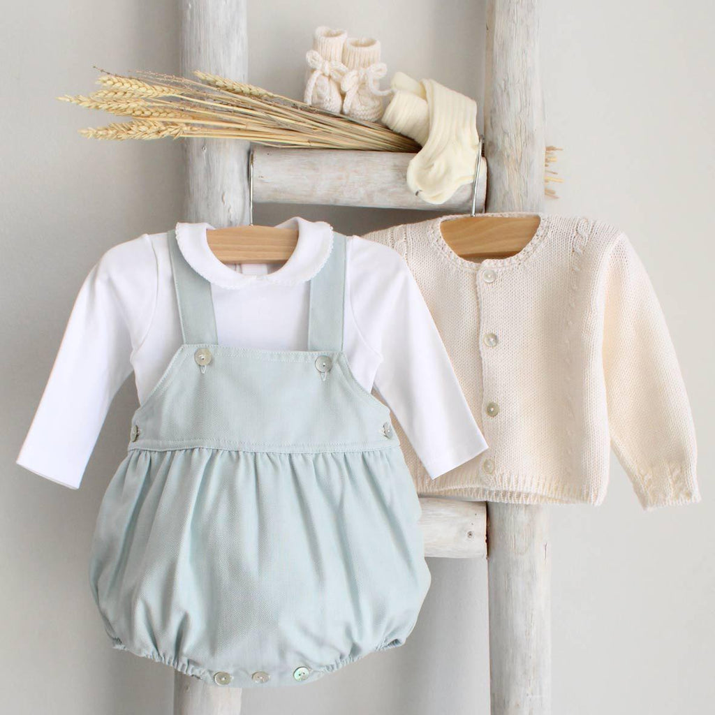 Oliver romper in green