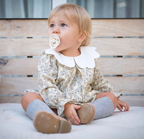 Arabella flower romper