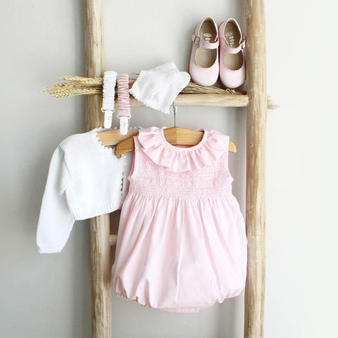 Emily pink romper