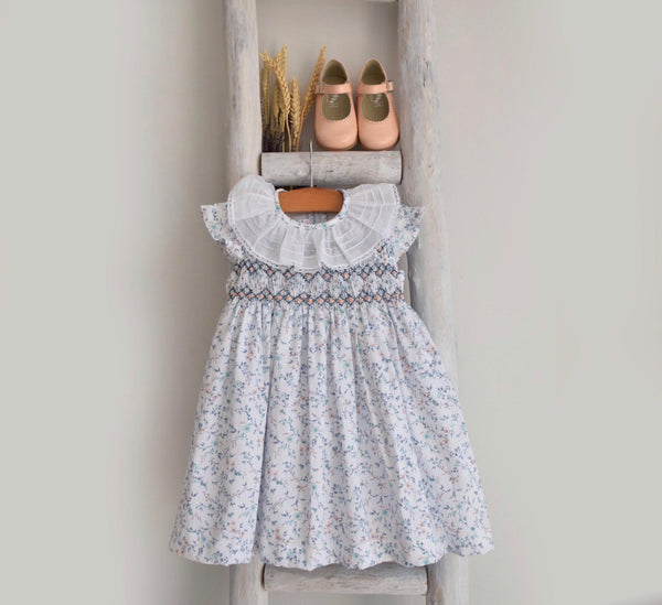 Amelia dress in blue