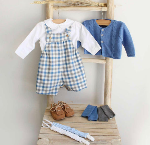 Oliver Tartan overall