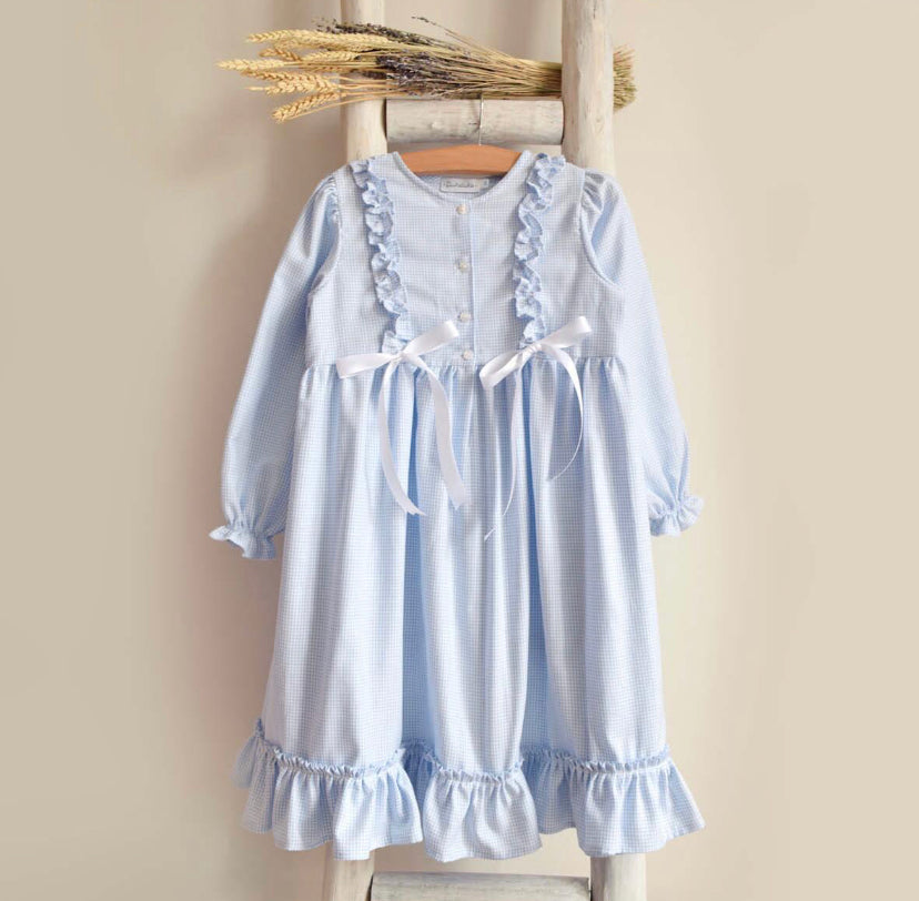 Camilla nightgown in blue