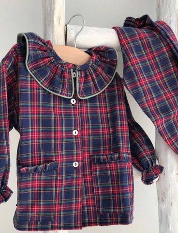 Tartan pyjama for girl