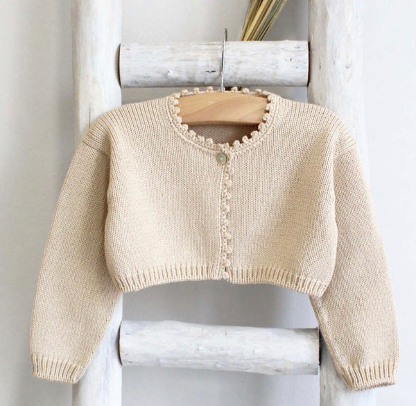 Cardigan in camel