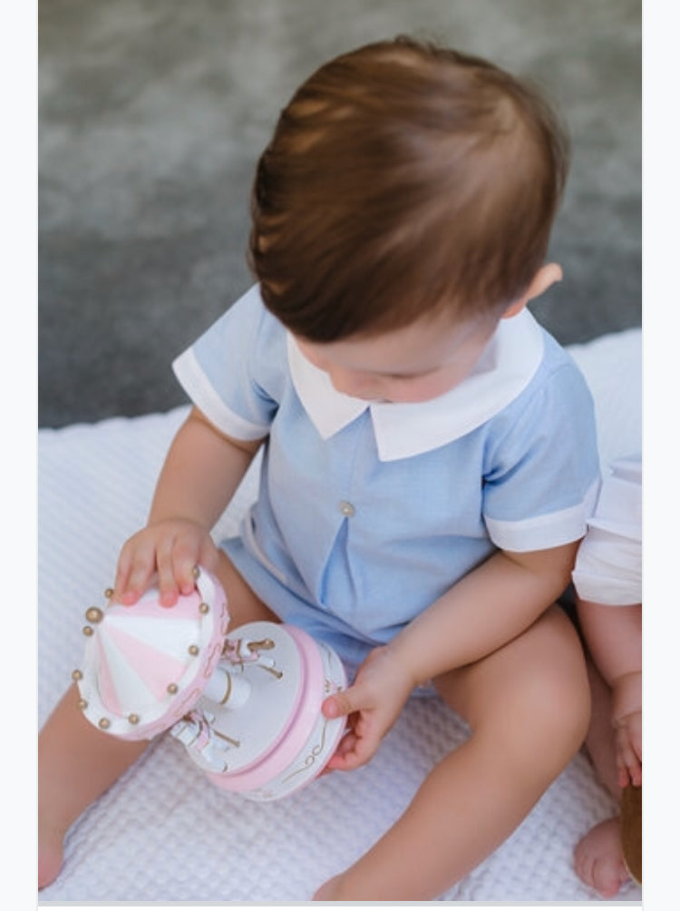 Oliver sailor romper