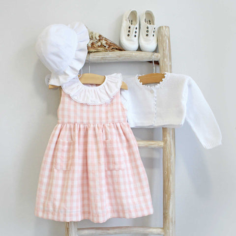 Dorothy dress pink vichy