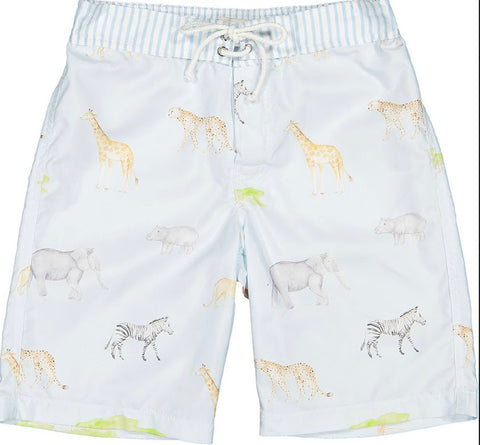 Sunset Safari Surf trunks