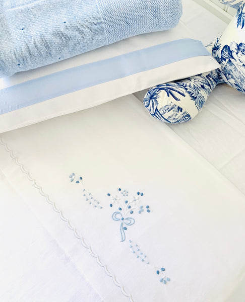 Blue Butterflies Bed Linen set