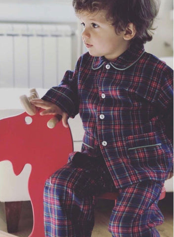 Tartan pyjama for boy