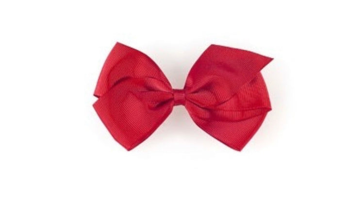 Large Hair bow- Red