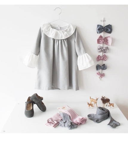 Ella dress grey