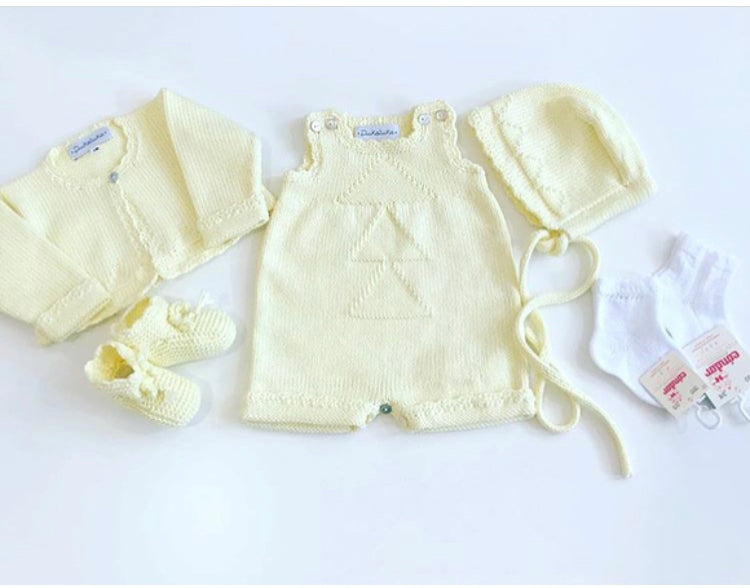 Organic cotton yellow romper