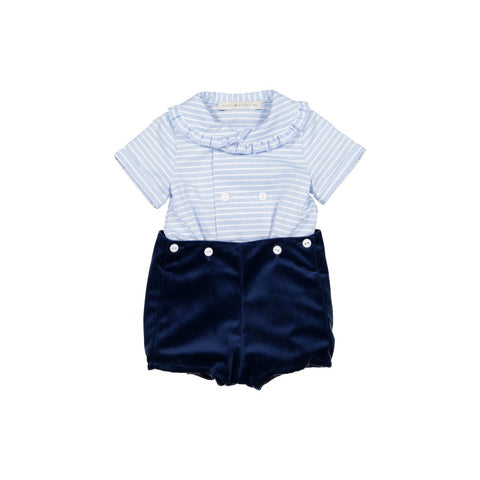 Oliver chic set in blue