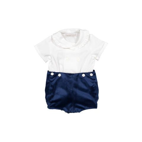 Oliver chic set in white