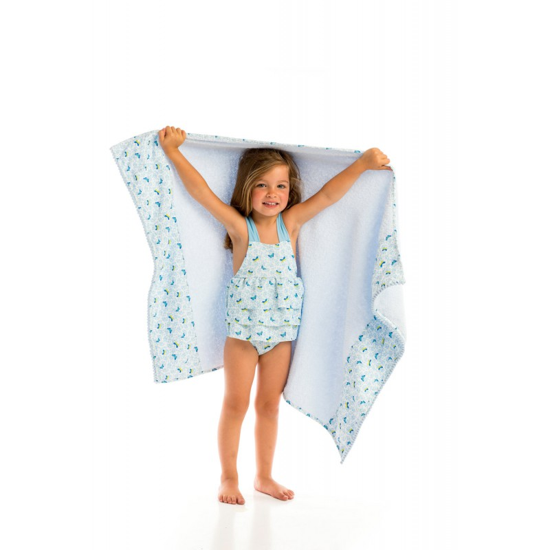 Butterflies beach towel