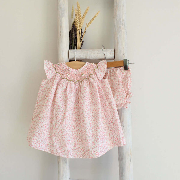 Lilly smocked dress