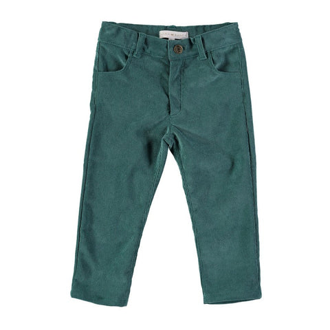 Boys electric green skinnies