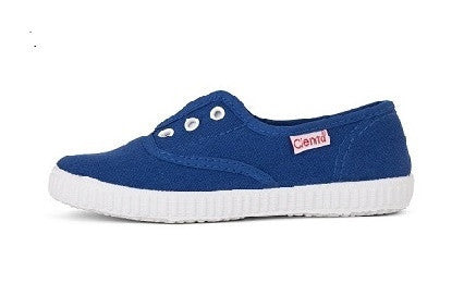 Slip on canvas shoes- blue