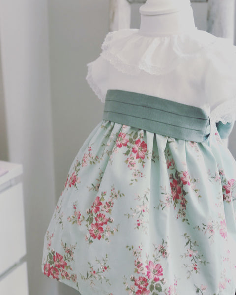Grace flower dress