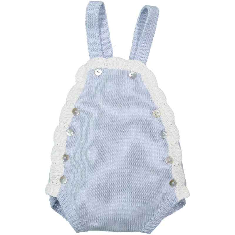 Cloud romper light blue