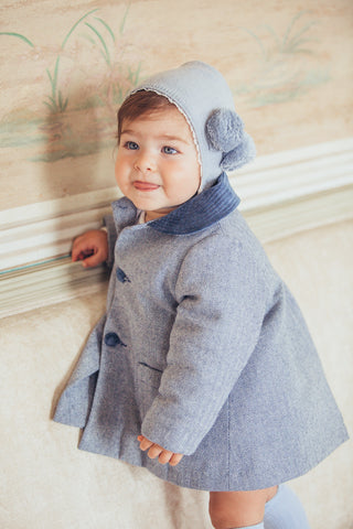 Baby Coat in blue
