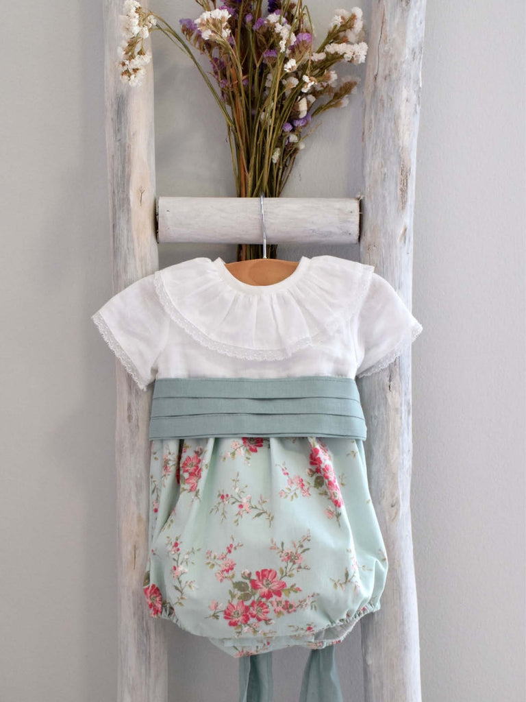 Grace flower romper