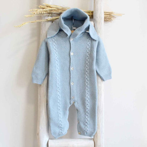 Bunny blue overall (cashmere mix)