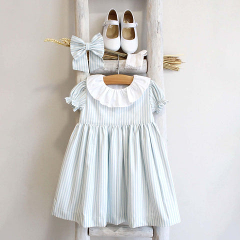 Dorothy dress stripy