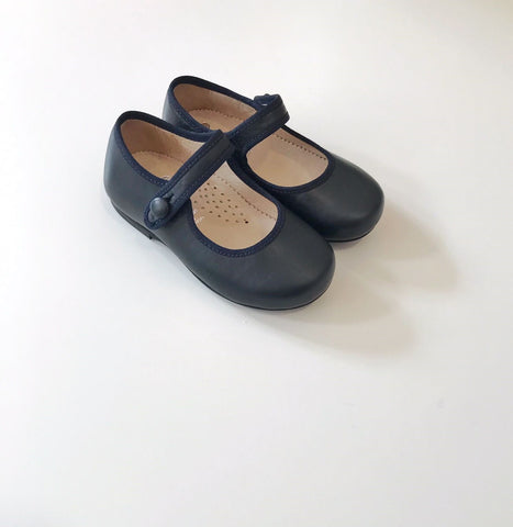 Mary Jane navy blue