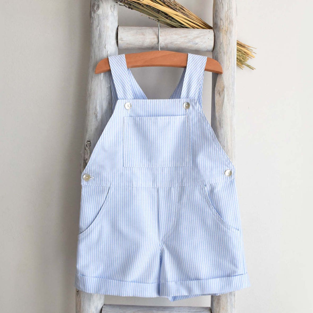 Oliver stripes blue shortall
