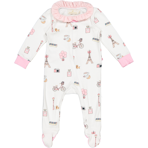 Paris baby girl pyjama