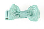 Small Hair Bow-Pastel Torquoise