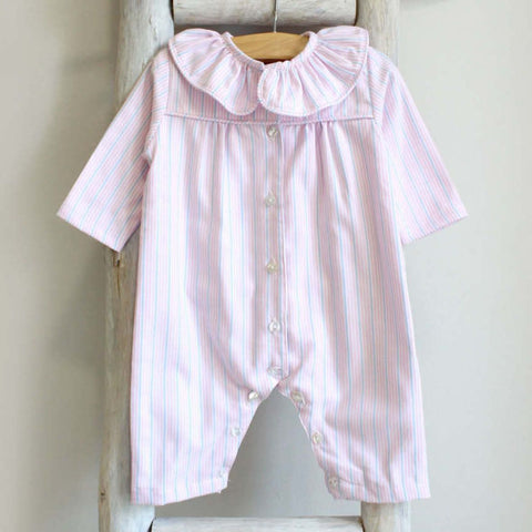 Pink and blue stripes Pyjama
