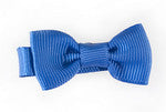Small Hair Bow- Royal Blue
