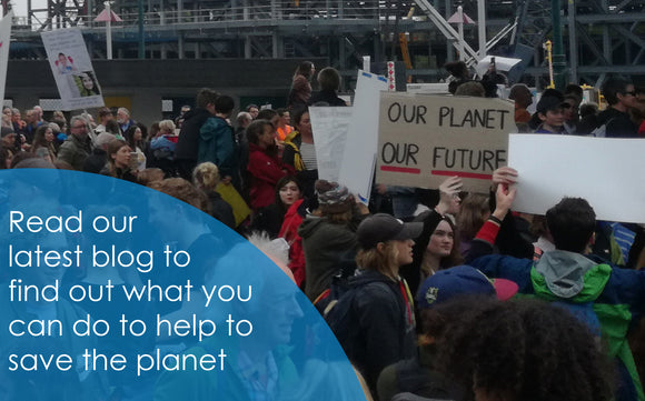 A Climate Emergency – What you can do to help to save the planet