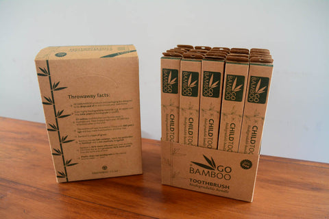 Go Bamboo toothbrushes