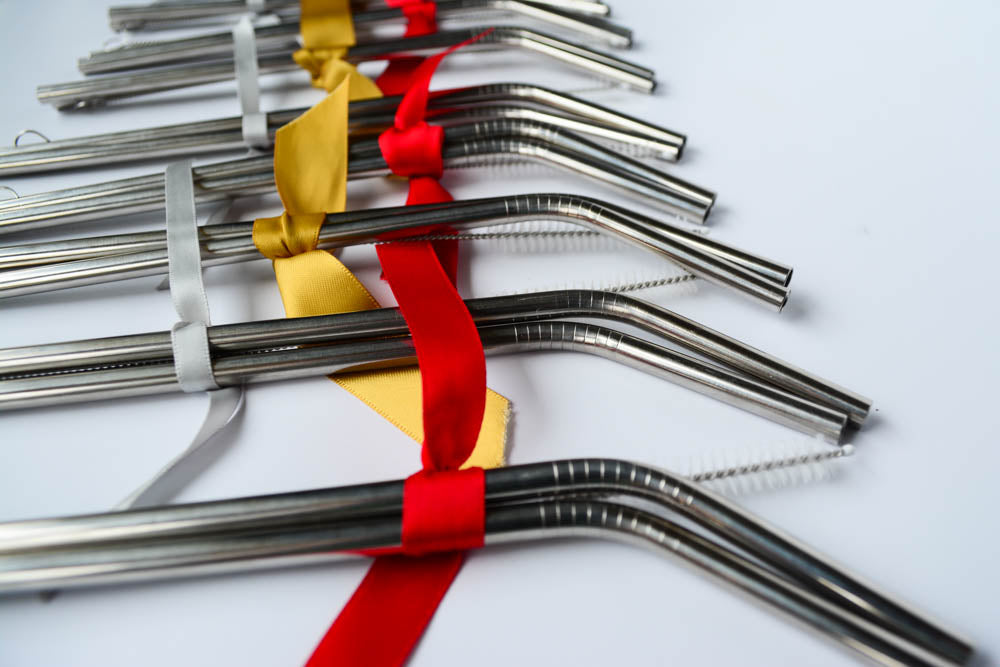 Stainless Steel Straws - Fundraising