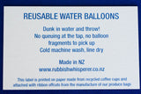 Reusable water balloons tag