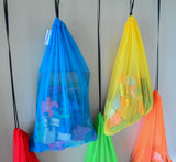 Reusable bags for storage, mesh
