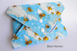 Reusable sandwich wraps, eco-friendly, Bee Haven