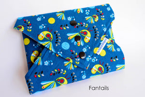 Reusable sandwich wraps, eco-friendly, Fantails