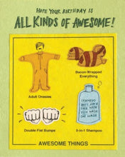 All Kinds of Awesome - Handmade Card