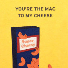 Mac N Cheese - Handmade Card