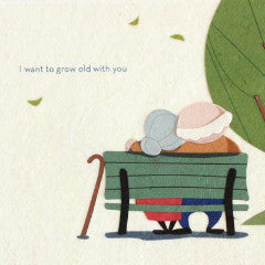 Grow Old With You - Handmade Card