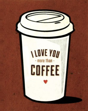 Coffee Love - Handmade Card