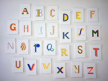 Alphabet Postcards