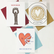I Heart You - Letterpress Card Gift Set